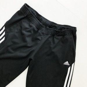 adidas Classic Black Stripe Straight Track Pant